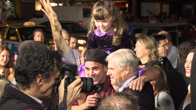 steve-o with his father ted glover and his niece at the jackass number two premiere arrivals at grauman's chinese theatre in hollywood, california on... - steve o stock videos & royalty-free footage