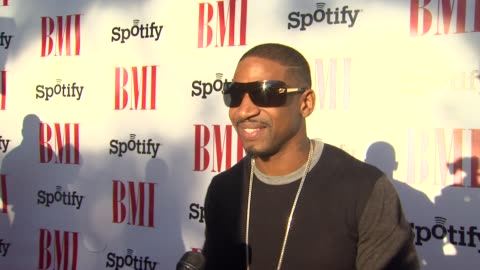stevie j on the event, mariah carey, urban music, skills it takes to be a songwriter at bmi urban awards 2012 on 9/7/2012 in beverly hills, california - songwriter stock videos & royalty-free footage