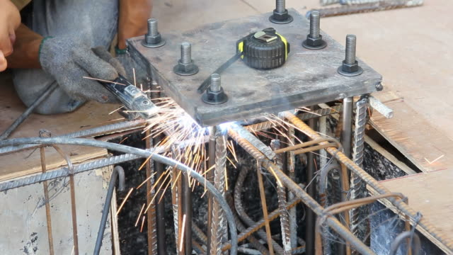 stick welding metal - stick plant part stock videos & royalty-free footage