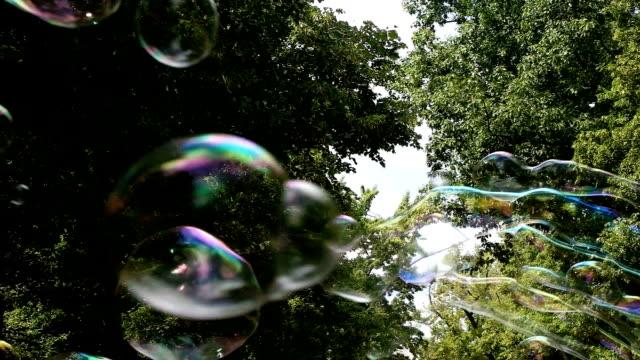 vídeos y material grabado en eventos de stock de palos y burbujas de hilo - actuación conceptos