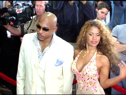Sticky Fingaz and Girlfriend Melinda Santiago at the 'Flight of the Phoenix' Los Angeles Premiere at the Bruin Theatre in Westwood California on...
