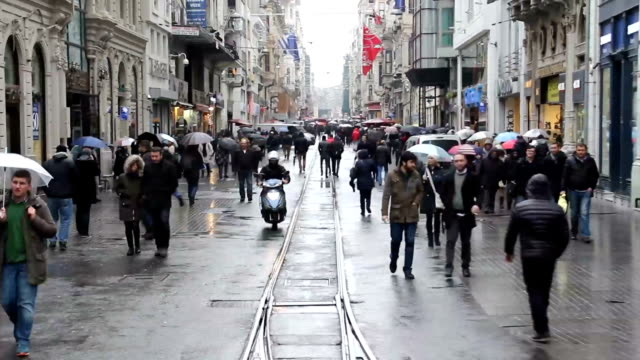 Istiklal Avenue - İstiklal Street