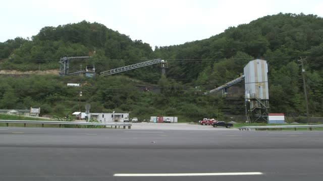 Still mine machinery in appalachia