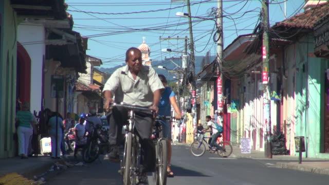still of granada nicaragua street scenes - nicaragua stock videos and b-roll footage