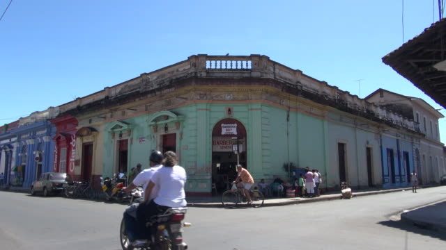 still of view of a building in the corner - nicaragua stock videos & royalty-free footage