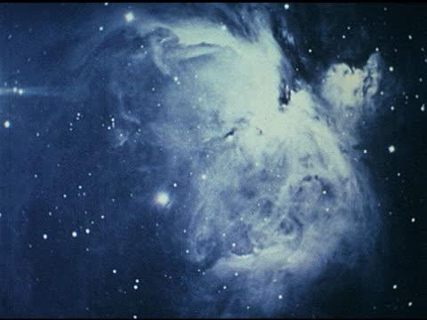 / still photographs of various nebulae. - nebula stock videos & royalty-free footage