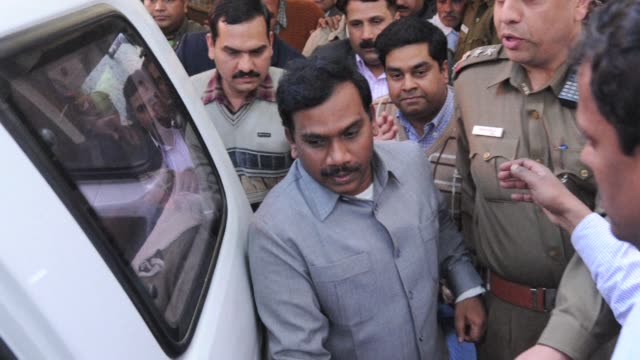 still photos of former indian former telecoms minister a raja who goes on trial in delhi accused of playing a central role in a massive corruption... - former stock videos & royalty-free footage