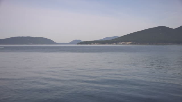 Still Quiet Lake at Dusk Near Seattle