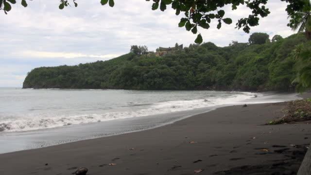 Still Shot of Beach and Waves in Papeete