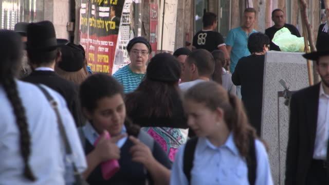 still shot of busy sidewalk no - skull cap stock videos & royalty-free footage