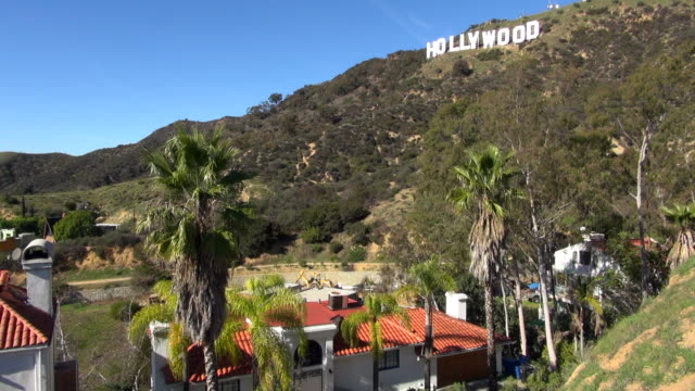 Still Shot of Hollywood Sign and Hollywood Hills