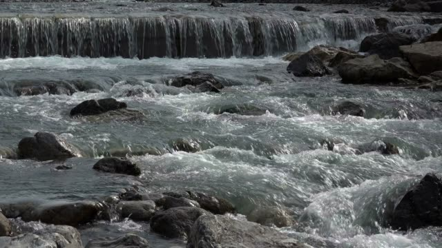 Stillach River near Oberstdorf, Allgau, Swabia, Bavarian Alps, Bavaria, Germany, Europe