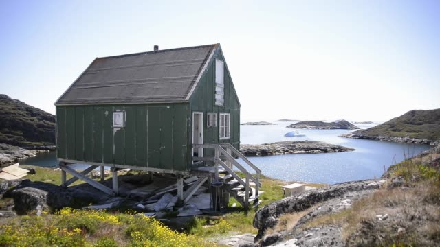 stilt house - greenland stock videos & royalty-free footage