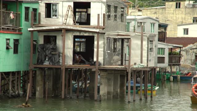 stilt house - stilt house stock videos & royalty-free footage