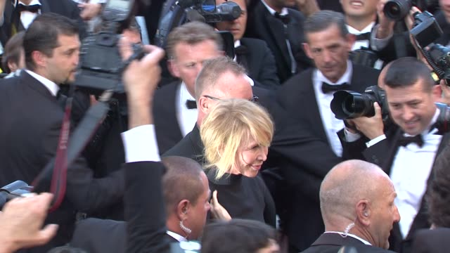 sting and trudie styler at mud premiere: 65th cannes film festival at lumiere on may 26, 2012 in cannes, france - trudie styler stock-videos und b-roll-filmmaterial