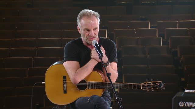 "SPEECH - Sting at Sneak Peek Event Sting in ""The Last Ship"