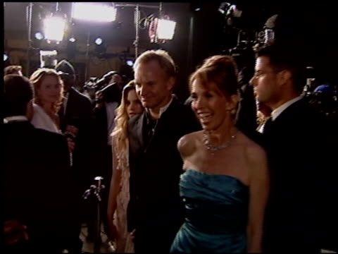 sting at the 2004 academy awards ballroom at the kodak theatre in hollywood california on february 29 2004 - 76th annual academy awards stock videos & royalty-free footage