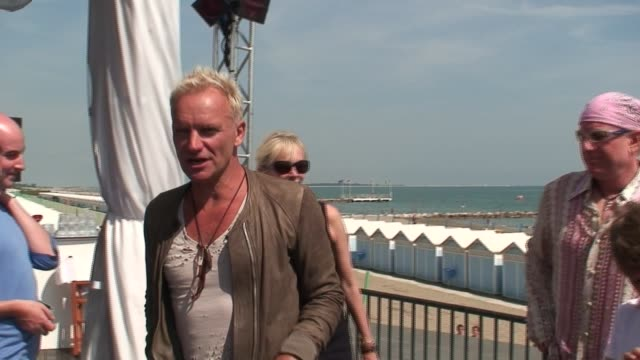 Sting at the The 63rd International Venice Film Festival in Venice on September 2 2006