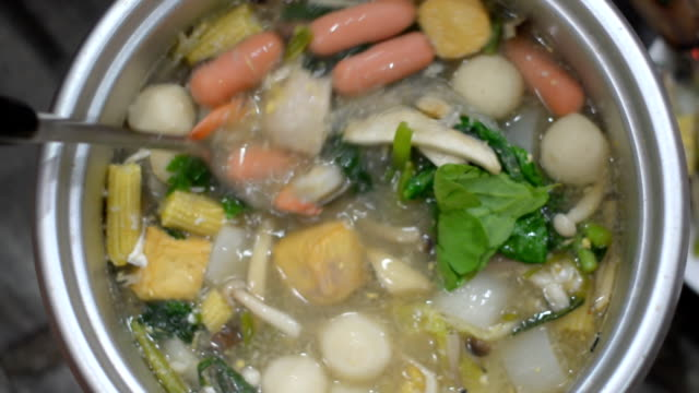 stir Sukiyaki by dipper