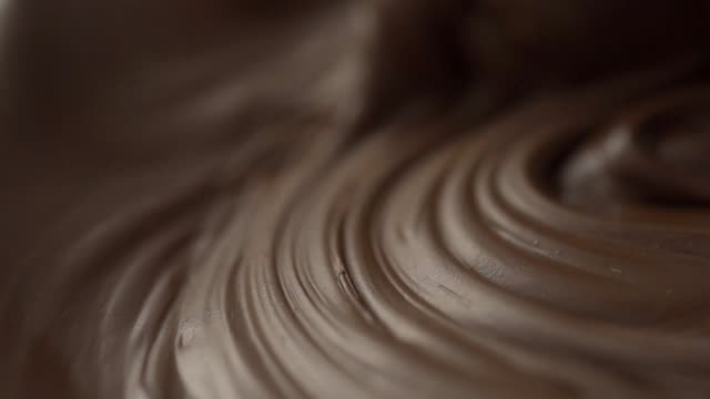 stiring chocolate - stock video - spoon stock videos & royalty-free footage