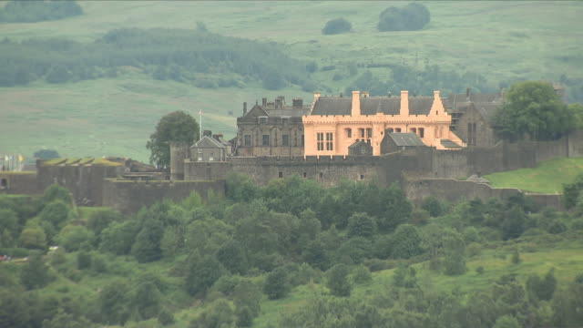 stirling castle - stirling stock videos & royalty-free footage