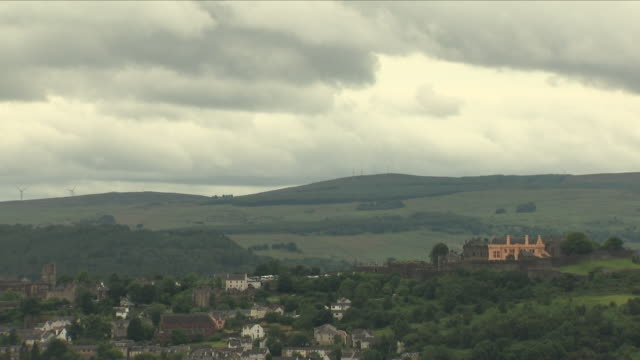 stirling town stockshots - stirling stock videos & royalty-free footage