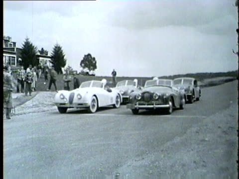 stock car racing in chicago in 1954 - 1954 stock videos and b-roll footage