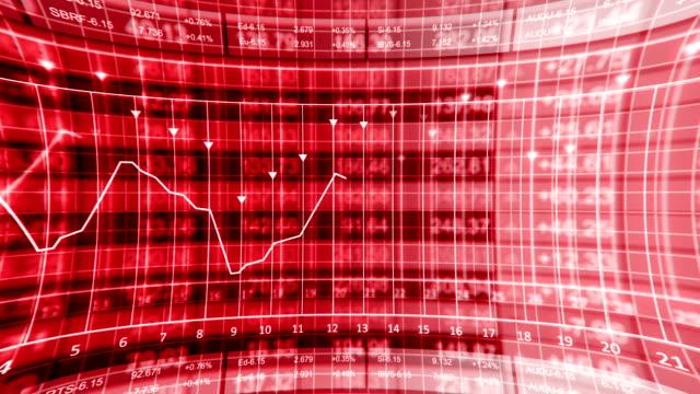 stock exchange - insegna di una banca video stock e b–roll