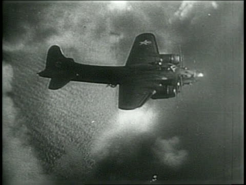 stock footage of b-17 plane / footage of weckage after plane crash at mt tom / narrated - narrating stock-videos und b-roll-filmmaterial
