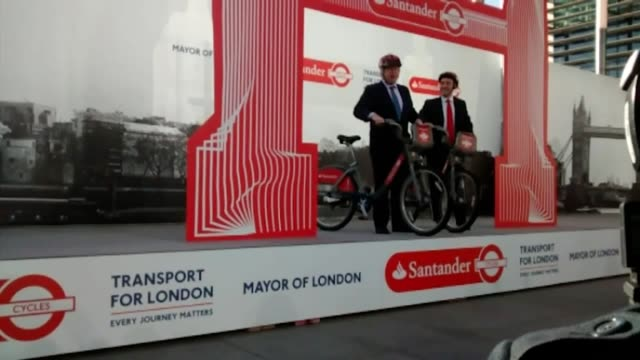 stock footage of tory leadership candidate boris johnson as the former mayor of london heads up the race to become the next prime minister - mayor stock videos & royalty-free footage