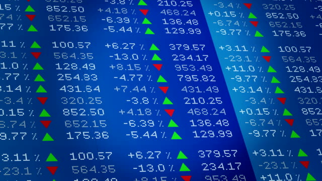 4k stock market background - dax stock market index stock videos and b-roll footage