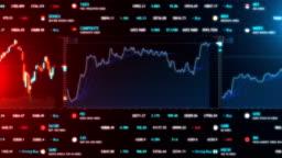 Stock Market Bar Graph trading