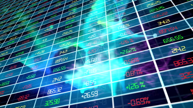 stock market bar graph trading - currency symbol stock videos & royalty-free footage