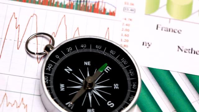 stockvideo's en b-roll-footage met stock market chart - cross processen