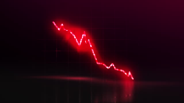 stock market crash concept - graph stock videos & royalty-free footage