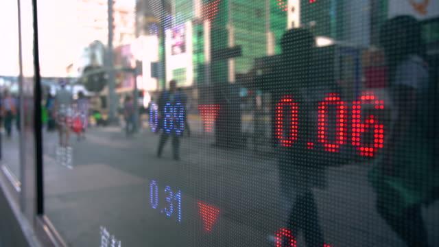 CU Stock Market Display / Hong Kong, China