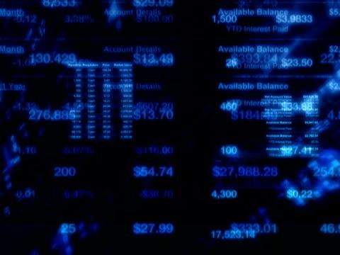 vidéos et rushes de marché boursier finance blitz (pal - symbole du yen