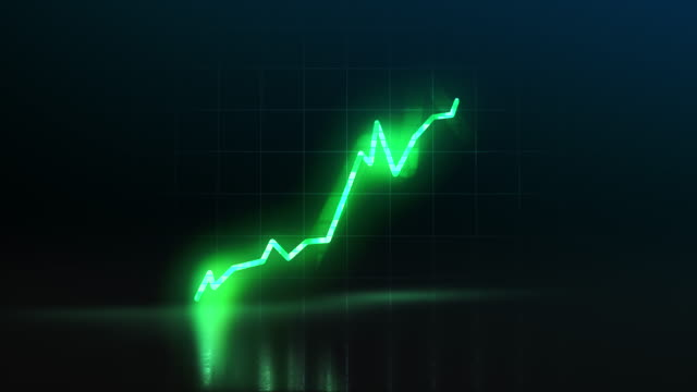 stock market growth concept - curve stock videos & royalty-free footage