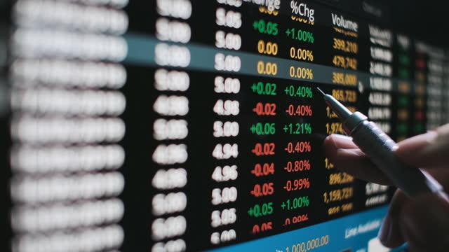 vídeos y material grabado en eventos de stock de inversión en el mercado de valores - business finance and industry