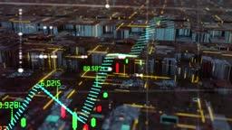 Stock Market Oscillators virtual lettering