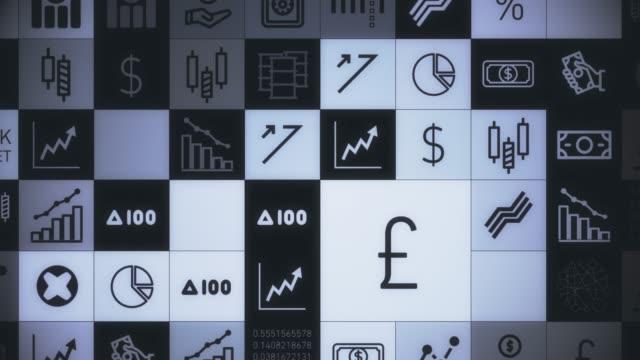 Aktiemarknaden symboler