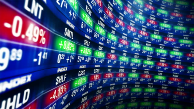 stock market - stock trader stock videos & royalty-free footage