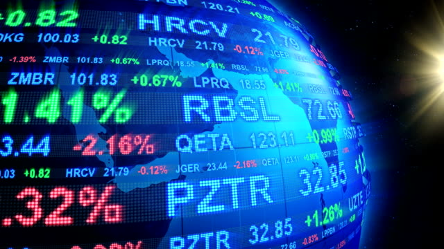 stock market world - trading screen stock videos & royalty-free footage
