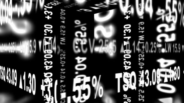 stock ticker geometry - seamlessly looping - greed stock videos and b-roll footage