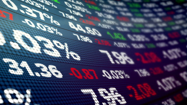 Stock Ticker Wall