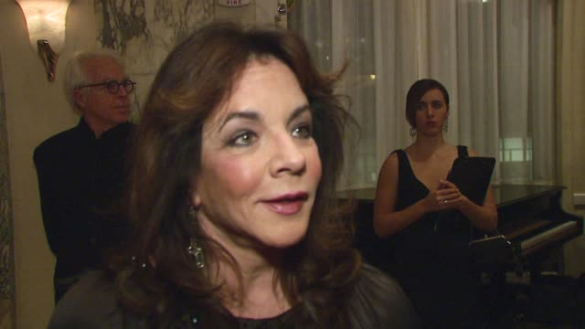 Stockard Channing / actress/ Wearing Pucci talks about what it was like working with Will in Six Degrees of Separation What it is that makes Will a...