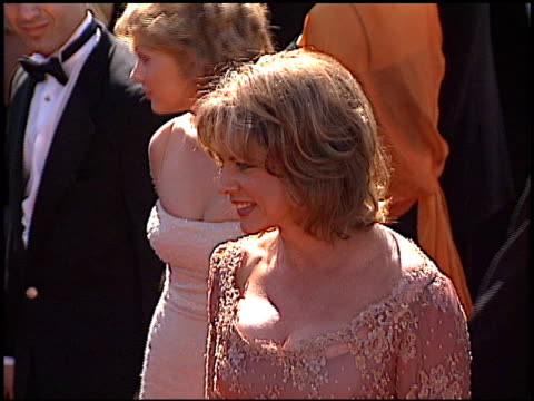Stockard Channing at the 1999 Emmy Awards at the Shrine Auditorium in Los Angeles California on September 12 1999