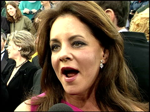 stockard channing at the 2001 screen actors guild sag awards arrivals at the shrine auditorium in los angeles, california on march 11, 2001. - shrine auditorium stock videos & royalty-free footage