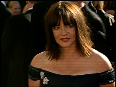 stockard channing at the 2002 emmy awards at the shrine auditorium in los angeles, california on september 22, 2002. - shrine auditorium stock videos & royalty-free footage