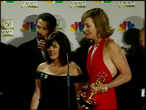 Stockard Channing at the 2002 Emmy Awards Press Room at the Shrine Auditorium in Los Angeles California on September 22 2002